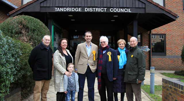 Alex at Tandridge District Council